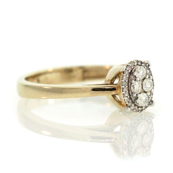 Diamond gold ring 0O001A4509_02