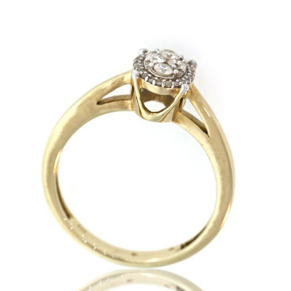 Diamond gold ring 0O001A4509_03