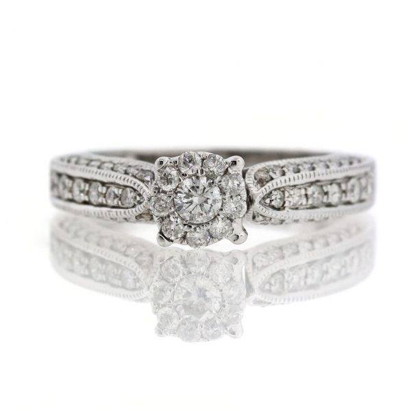 Diamond gold ring 0O001A5319_02