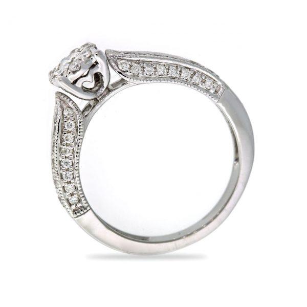 Diamond gold ring 0O001A5319_03