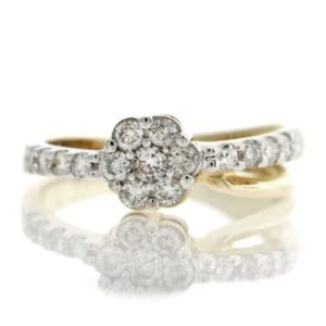 Diamond gold ring GO001A5669_01