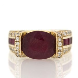 Ruby gold ring 0O001A33949_03