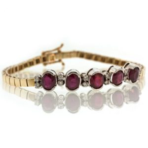Ruby Gold Bracelet TO001F29844_01